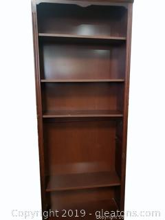 Large Wooden Book Shelf (B)