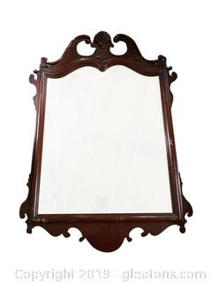Hand Carved Mirror A