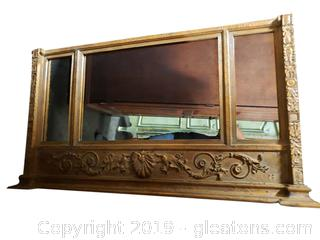 """Windsor"" Large Decorative Wall Mirror"