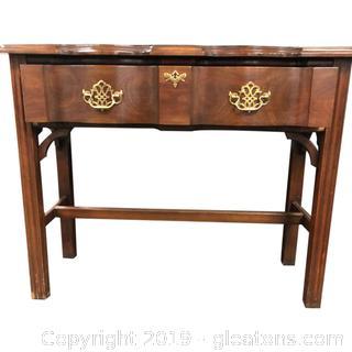 Harden Mahogany Writing Table