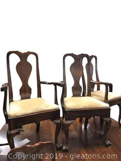 Pair Of French Accent Arm Chairs