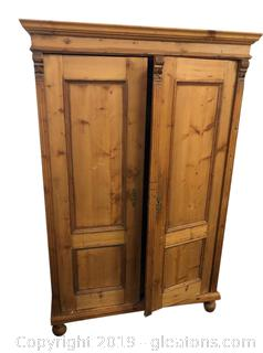 Unique Farmhouse Armoire