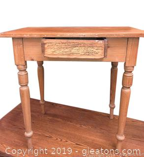 Primitive Writing Table