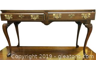 Queen Ann Sofa Table