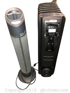 Air Purifier And Heater Lot