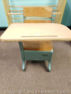 1950's Kids School Desk