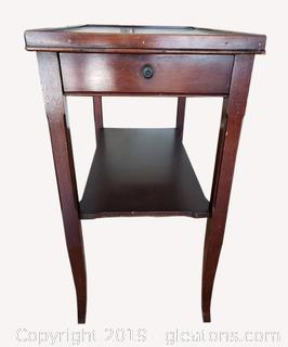 Genuine Mahogany Side Table