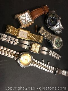 Collection Of Mens Watches