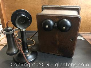 Antique Desk Telephone