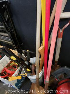 Yard Tools Lot