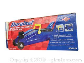 2 Ton Duralast Hydraulic Trolley Jack