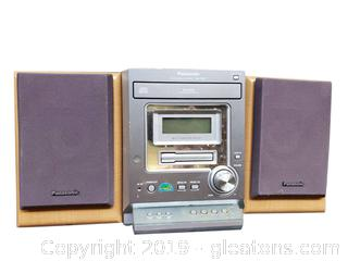 Panasonic Small Shop/Kitchen Stereo System