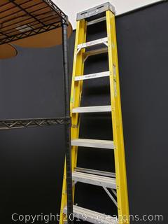 8ft Werner Alumium Step Ladder