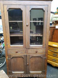Antique Farmhouse Pie Safe