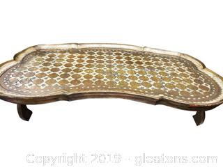 Imported Venetian Gilded Tray