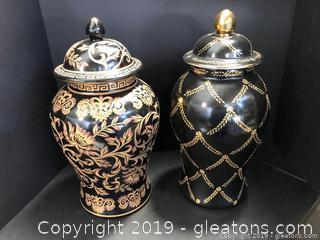 Urn Decor-2 Pieces