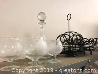 Metal And Glass Lot!