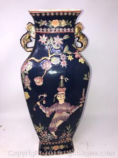 Oriental Asian Tall Vase