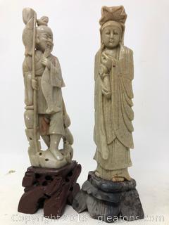 Vintage Lot Of Oriental Asian Figurines B
