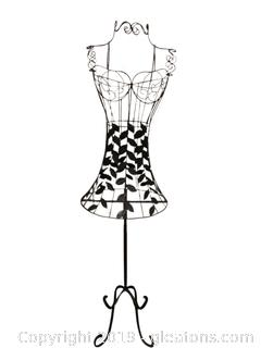 Metal Faux Dress Maker's Form