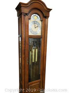 Elegant Howard Miller Grand Father Clock