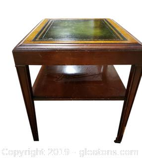 Ferguson Leather Top Table