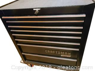 Craftman Rolling Tool Box with tools