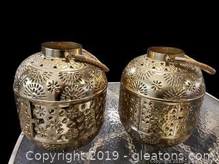 Modern Brass Lanterns