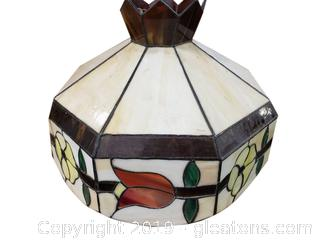 Stain-glass Tiffany Style Hanging Light