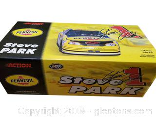 Action Performance Pennzoil 1:24 Scale Stock Car