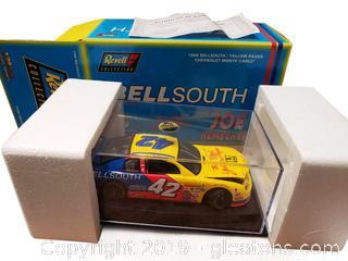 Bell South Joe Nemechek 1:24 Scale Car With Certificate
