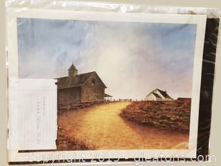 Farmhouse #'d Print By Butler Brown