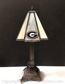 Tiffany Replica University Of GA lamp