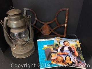 Vintage Lantern & Music