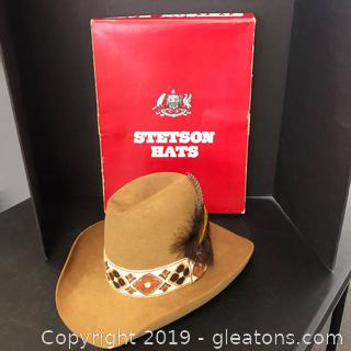 Stetson Hat-3x Beaver