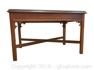 Vintage Solid Wood Console Or Coffee Table