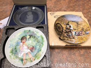 Nice Lot Of Collectible Plates