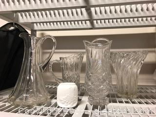 Beautiful Crystal + Glass Ware