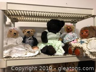 Collectible Bear Lot