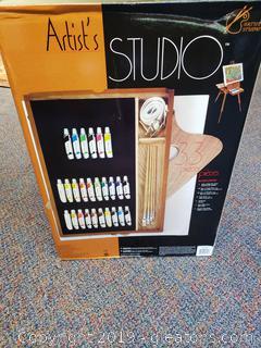 "New In ""Box"" Artist's Studio"
