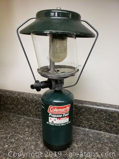 Coleman Two Mantle Propane Lantern