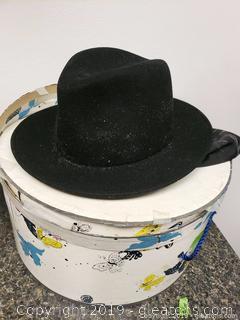 Vintage Ladies, Wool Hat With Box