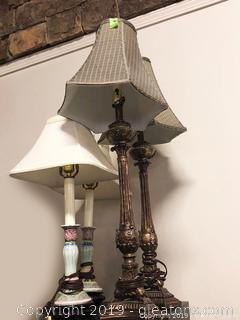 Lamp + Shade Lot