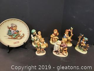 Beautiful Lot Of Goebel Mixed Collectibles
