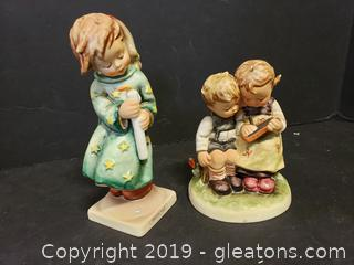 Set Of (2) Hummel Collectible Figurines
