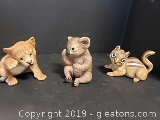 Limited Edition Collectors Porcelain Sculptures By: Rogers J.Brown
