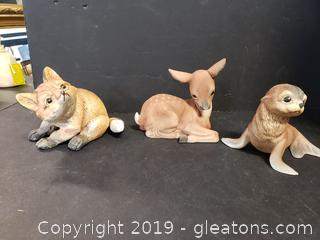 Limited Collectors Edition Porcelain Sculptures By: Roger J.Brown