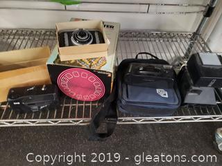 Vtg Lot Of Camera's And Talking View-Master