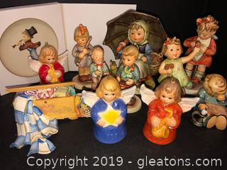 Lot Of Collectibles By Goebel MJ Hummel