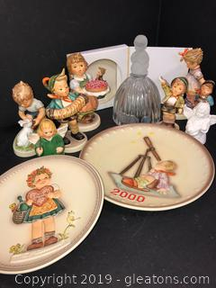 Lot Of Collectibles By MJ Hummel Goebel